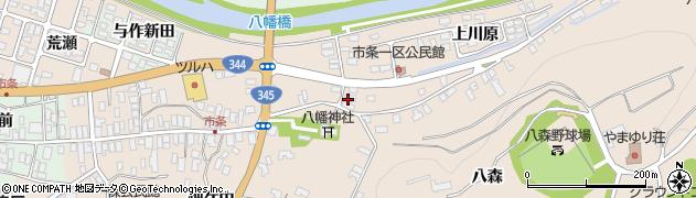 山形県酒田市市条上川原12周辺の地図