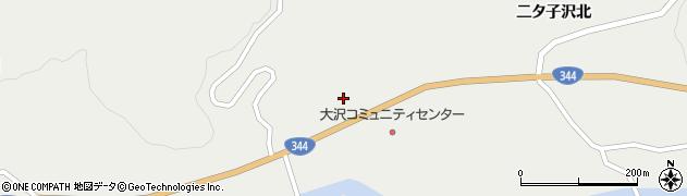 山形県酒田市大蕨下黒沢121周辺の地図
