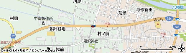 山形県酒田市法連寺村ノ前周辺の地図