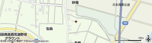 山形県酒田市藤塚北畑78周辺の地図