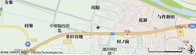 山形県酒田市法連寺茅針谷地71周辺の地図