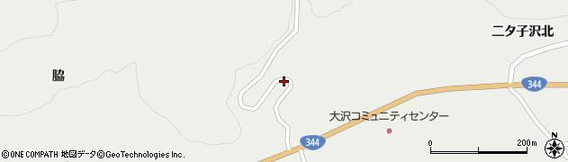 山形県酒田市大蕨下黒沢36周辺の地図