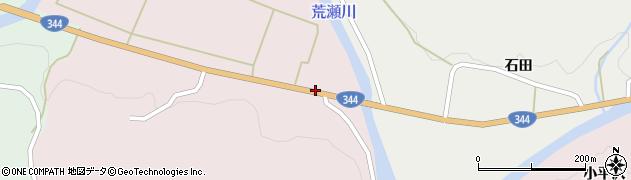 山形県酒田市下青沢山添94周辺の地図