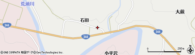 山形県酒田市大蕨石田前19周辺の地図