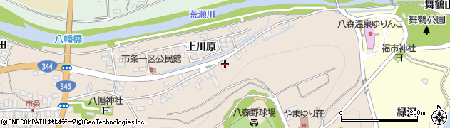 山形県酒田市市条上川原41周辺の地図