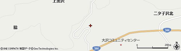 山形県酒田市大蕨下黒沢85周辺の地図