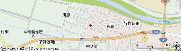 山形県酒田市市条荒瀬88周辺の地図