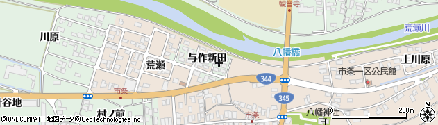 山形県酒田市市条荒瀬5周辺の地図