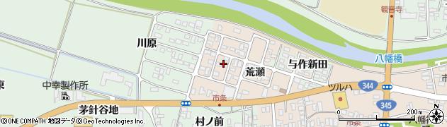 山形県酒田市市条荒瀬80周辺の地図
