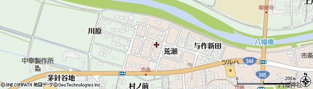 山形県酒田市市条荒瀬98周辺の地図