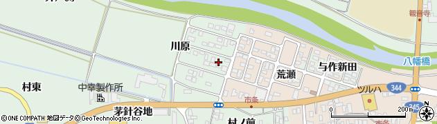 山形県酒田市法連寺川原16周辺の地図