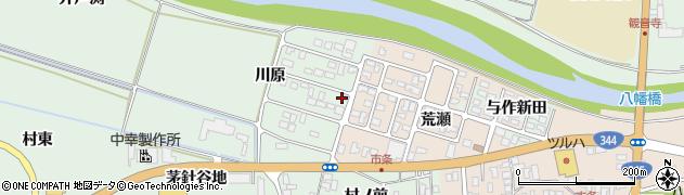 山形県酒田市法連寺川原19周辺の地図