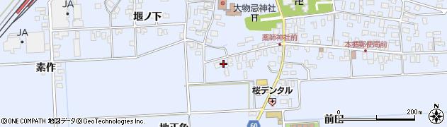 山形県酒田市本楯地正免40周辺の地図