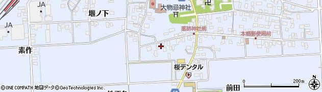 山形県酒田市本楯地正免38周辺の地図