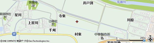 山形県酒田市大豊田(寺東)周辺の地図