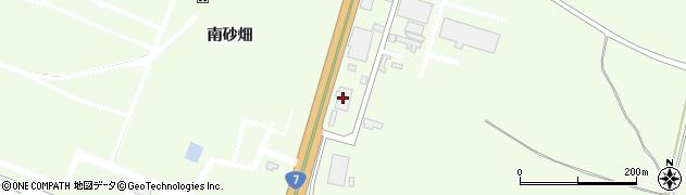 山形県酒田市宮海南砂畑2周辺の地図