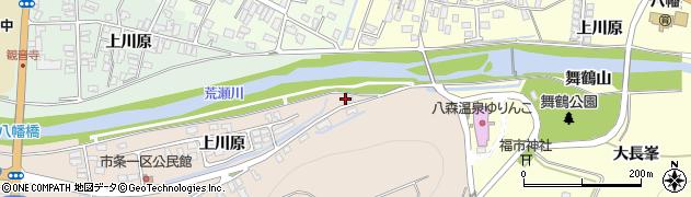 山形県酒田市市条上川原1周辺の地図