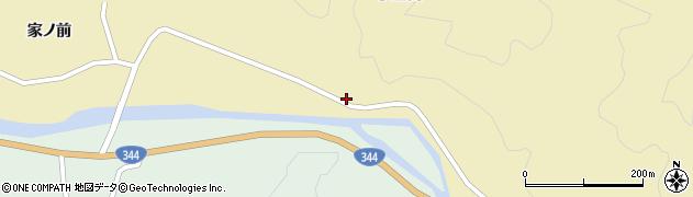 山形県酒田市北青沢小屋渕19周辺の地図