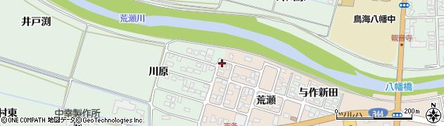 山形県酒田市市条荒瀬173周辺の地図