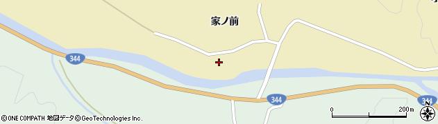 山形県酒田市北青沢家ノ前290周辺の地図