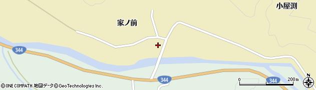 山形県酒田市北青沢家ノ前288周辺の地図