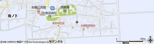 山形県酒田市本楯新田目18周辺の地図