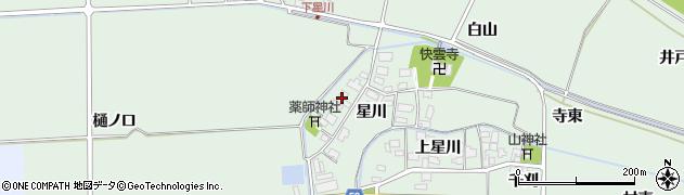 山形県酒田市大豊田星川25周辺の地図