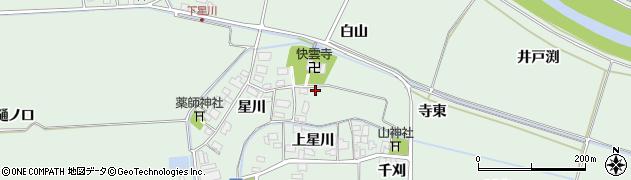 山形県酒田市大豊田星川4周辺の地図