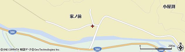 山形県酒田市北青沢家ノ前36周辺の地図