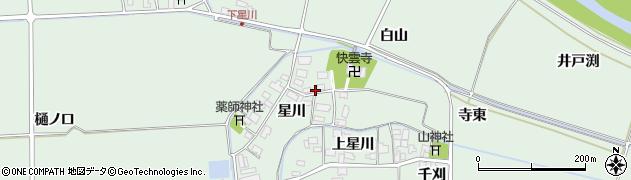 山形県酒田市大豊田星川16周辺の地図