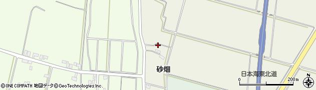 山形県酒田市穂積砂畑周辺の地図