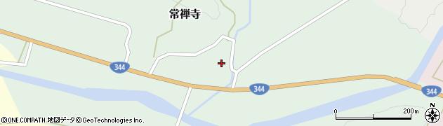 山形県酒田市常禅寺(上川原)周辺の地図