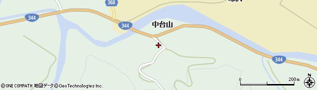 山形県酒田市上青沢中台山143周辺の地図