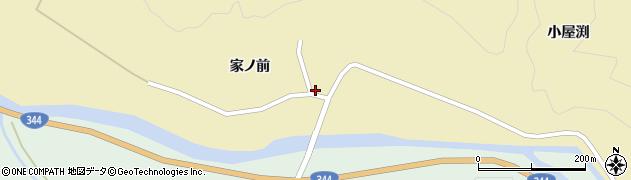 山形県酒田市北青沢家ノ前106周辺の地図