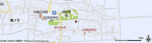 山形県酒田市本楯新田目20周辺の地図