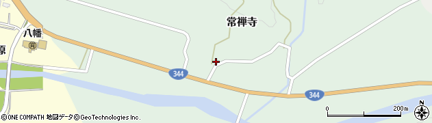 山形県酒田市常禅寺上野山1周辺の地図