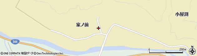 山形県酒田市北青沢家ノ前92周辺の地図