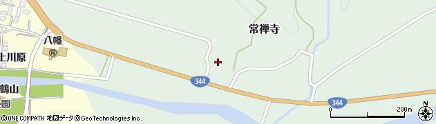 山形県酒田市常禅寺西ノ沢18周辺の地図
