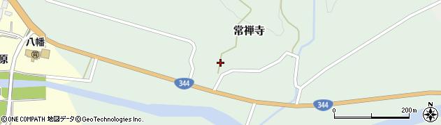 山形県酒田市常禅寺上野山2周辺の地図