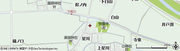 山形県酒田市大豊田星川19周辺の地図