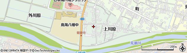 山形県酒田市小泉周辺の地図
