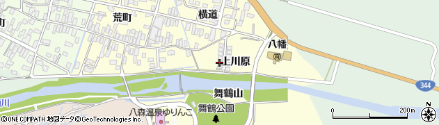 山形県酒田市麓上川原15周辺の地図