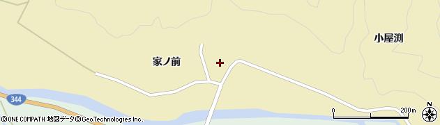 山形県酒田市北青沢家ノ前113周辺の地図