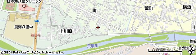 山形県酒田市観音寺町157周辺の地図