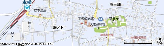 山形県酒田市本楯新田目103周辺の地図