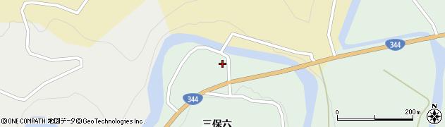 山形県酒田市上青沢三保六86周辺の地図