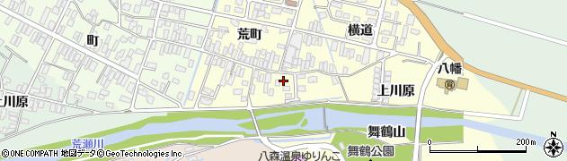 山形県酒田市麓荒町12周辺の地図