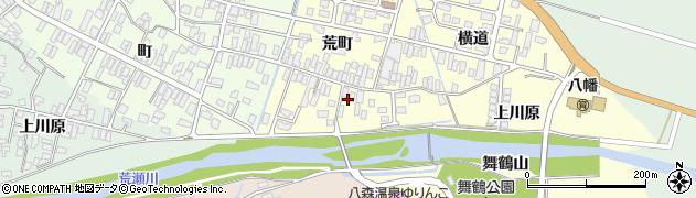 山形県酒田市麓荒町17周辺の地図