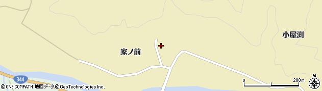 山形県酒田市北青沢家ノ前76周辺の地図
