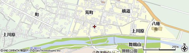 山形県酒田市麓荒町16周辺の地図